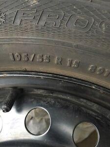 Car Winter tires/rims  Cambridge Kitchener Area image 3