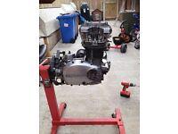 KAWASAKI KZ750B ENGINE (CAFE RACER BRAT BOBBER PROJECT)