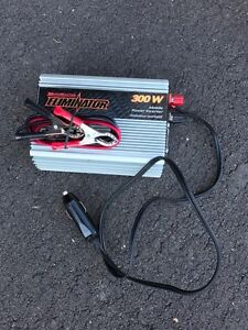 300 W inverter with connectors (sold)