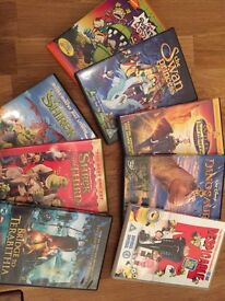 Collection of 13 kids DVDs | used condition