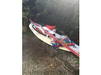 Windsurfer sailboard
