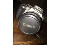 Canon DSLR EOS 400D with accessories