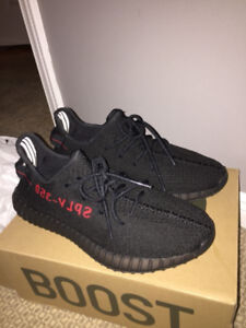 Yeezy Boost 350 Boost- Bred edition *like new*