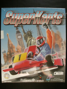 PC Game: SuperKarts - New and Factory Sealed (1995)