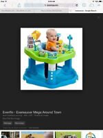 Graco swing ang evenflo exersaucer