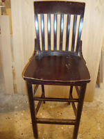 Bar Chairs with side design for sale