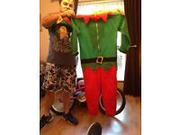 Kids elf outfit