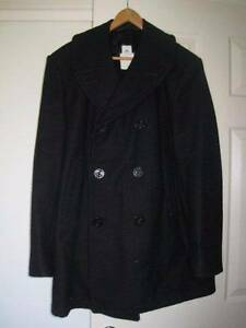 US Navy Naval Military DSCP Men's Wool Pea Coat by Sterlingwear Wollongong Wollongong Area Preview