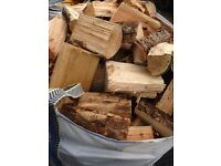 Ready to burn dry logs firewood free local delivery