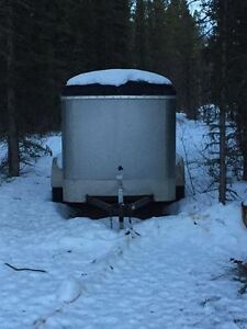 Small enclosed trailer