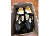 Vintage Girls Shoes, Size 7, Made in England