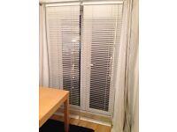 Wooden blinds white