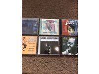 Louis Armstrong CD's