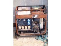 Diesel generator , spares or repairs generator