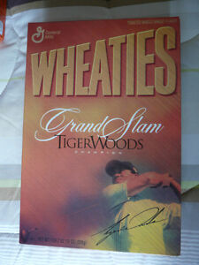 Wheaties collectible Tiger Woods cereal boxes West Island Greater Montréal image 3