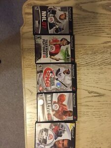 PS2 games - 5 different sports titles London Ontario image 1