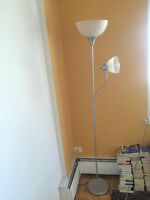 Two Floor Lamps From Canadian Tire/Deux lampadaires