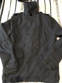 Men's H&M Divided wool coat / jacket