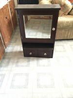 Bathroom cabinet $30
