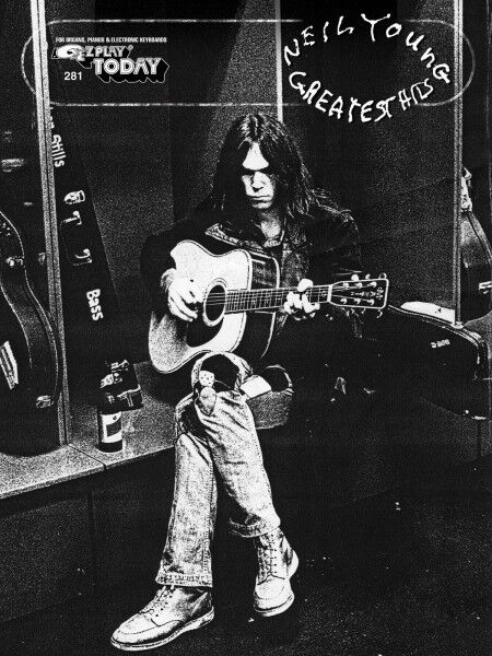 Neil Young Greatest Hits Sheet Music E-Z Play Today Book NEW 000100238
