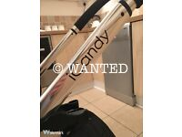 Wanted Icandy Peach prams