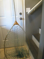 SALMON NET/TACKLE/TACKLE BOXES