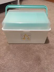 Mothercare nappy box