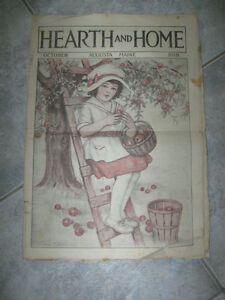 OLD OCTOBER 1919 ISSUE of HEARTH & HOME [AUGUSTA MAINE]