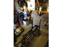 York 6605 weights bench