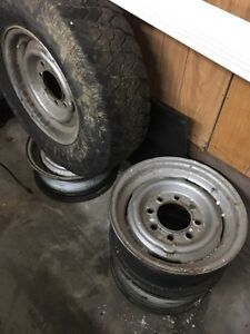 "Gmc/chev truck 16"" steel rims Kawartha Lakes Peterborough Area image 1"