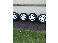 15in Vauxhall alloys 4x100 fitment