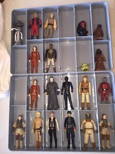 Vintage Star Wars Figures Kitchener / Waterloo Kitchener Area image 1