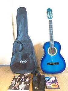 Ashton Beaut Blue Beginner Guitar Set-HARDLY USED Franklin Huon Valley Preview
