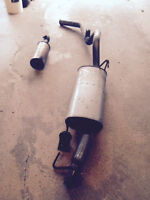 2014-11 Ford F150 Ecoboost exhaust system.