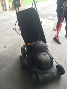 Earthwise electric lawn mower London Ontario image 2