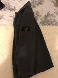 Stone island lamb wool coat