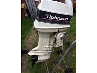 JOHNSON 60HP POWER TRIM AND TILT OUTBOARD