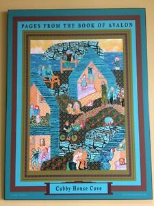 """Painting poster """"Pages from the book of Avalon""""  St. John's Newfoundland image 3"""