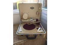 Vintage record player 1955 £60