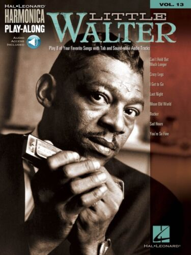 Little Walter Harmonica Play-Along Book and Audio NEW 000001334