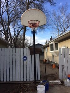Free Basketball net and stand