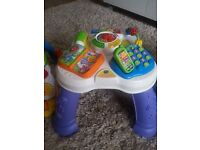 VTech Baby Play & Learn Activity Table £15 looks new