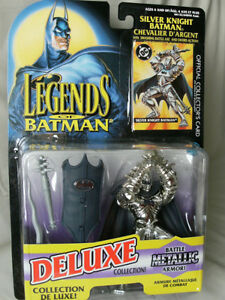 1995 LEGENDS OF BATMAN: SILVER KNIGHT BATMAN, DELUXE COLLECTION