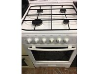 Cooker duel fuel top gas grill and fan oven electric 60 cm for sale
