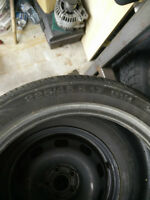One tire: Continental Contiprocontact 225/45r17