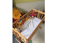 Baby Swing Crib with mattress