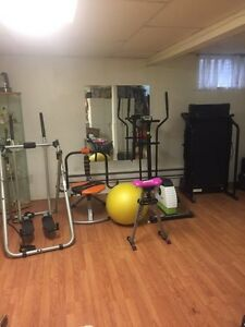 Full at home gym equipments West Island Greater Montréal image 1