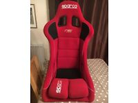 Sparco seat fibreglass track day rally race kit car