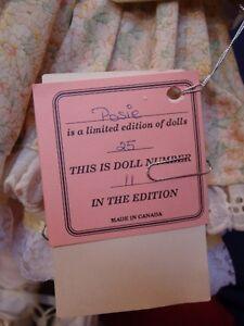 Meggan's Collectors Canadian Procelain Handmade Doll (Posie) London Ontario image 10