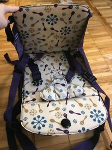 Munchkin portable booster seat